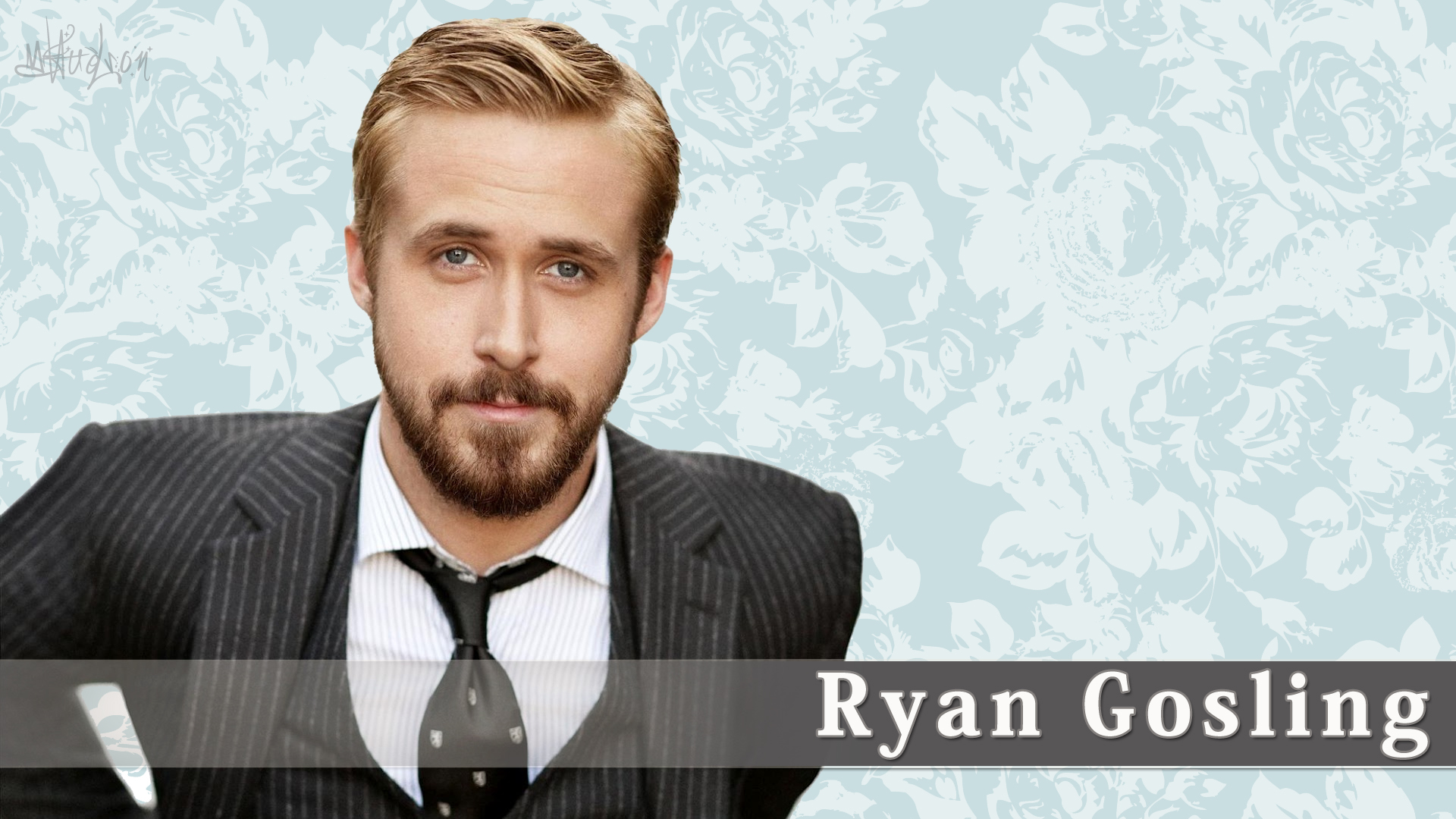 Ryan Gosling Wallpaper by Cassaria 1920x1080