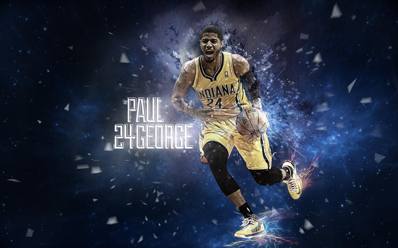 Wallpaper Indiana Pacers 1024x640 Paul George Wallpaper Indiana Pacers 1280x800