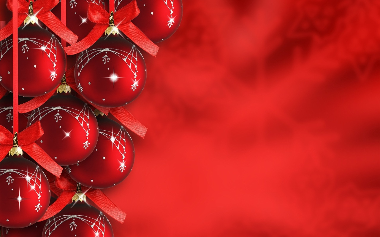Christmas Background Red Christmas Backgrounds Red Christmas 1280x800