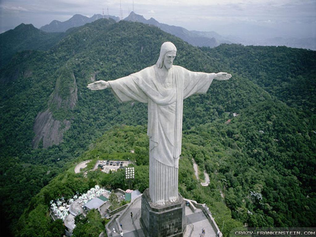 Christ The Redeemer Statue Wallpaper Wallpapersafari