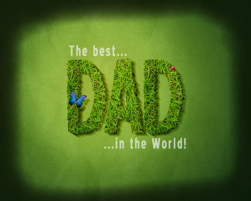 The best dad in the world Flickr   Photo Sharing 500x400