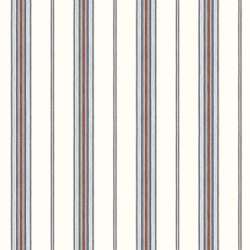 Home Fashions Borders by Chesapeake Camp Cabin Stripe Wallpaper 500x500