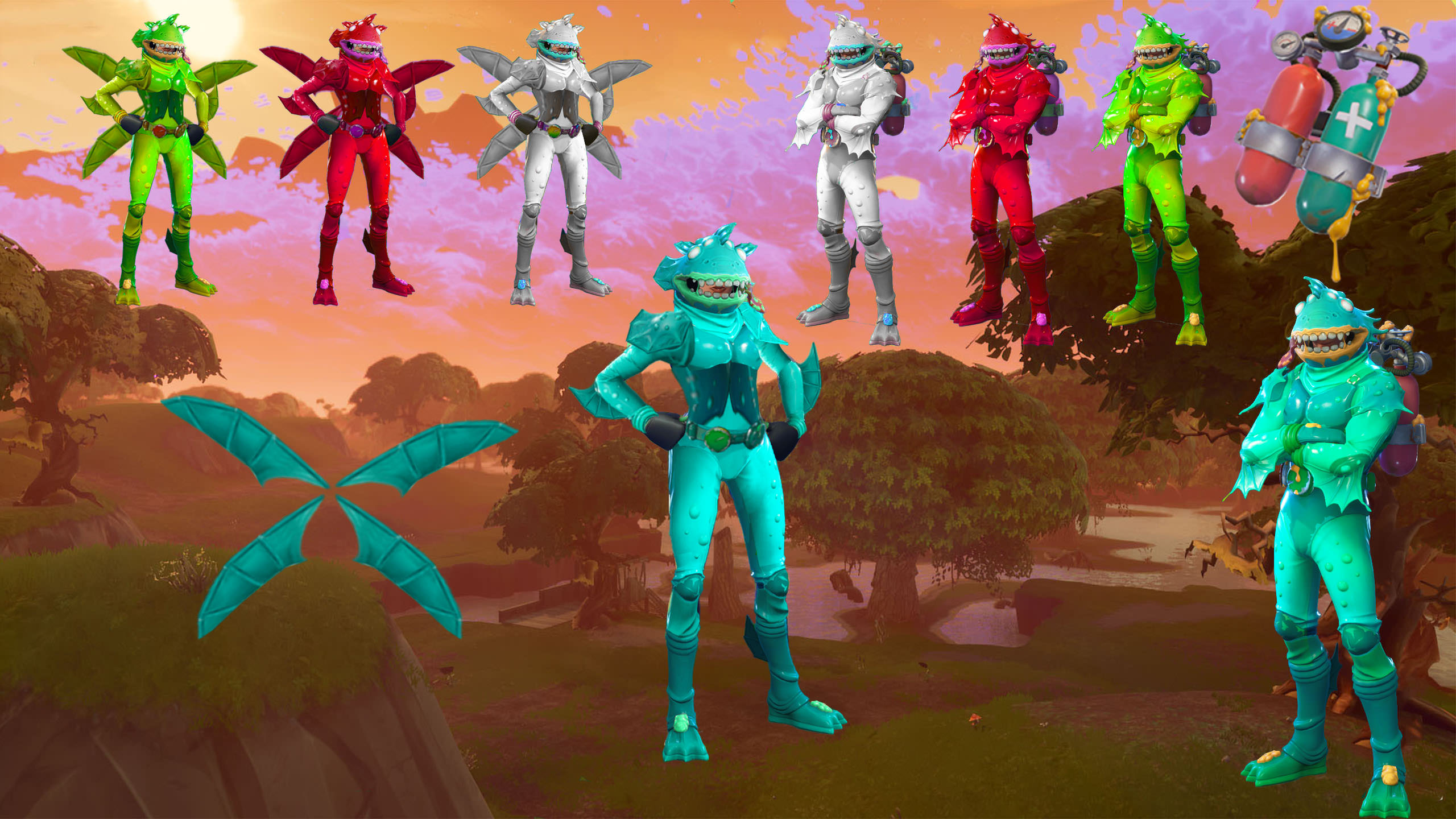 FORTNITE moisty merman and moisty mermaid   Album on Imgur 2560x1440