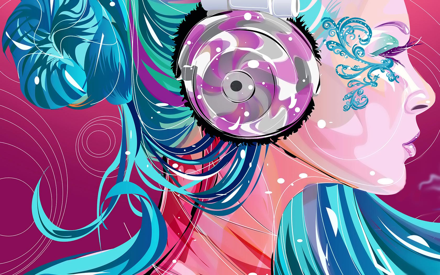 Disco girl   downloads backgrounds wallpapers 1680x1050