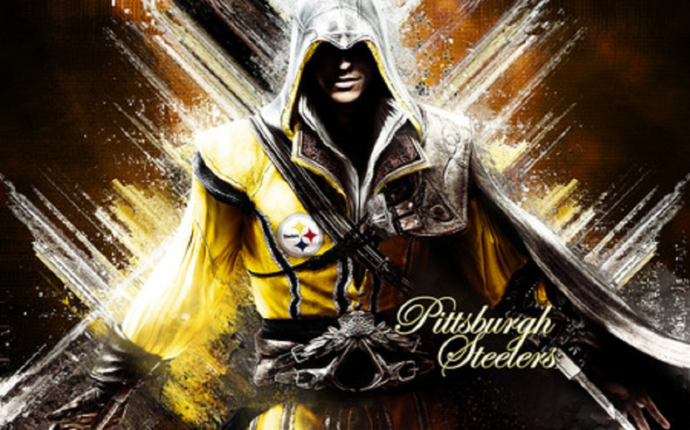 Pittsburgh Steelers Assassins Creed Artwork Wallpapers 1000x624