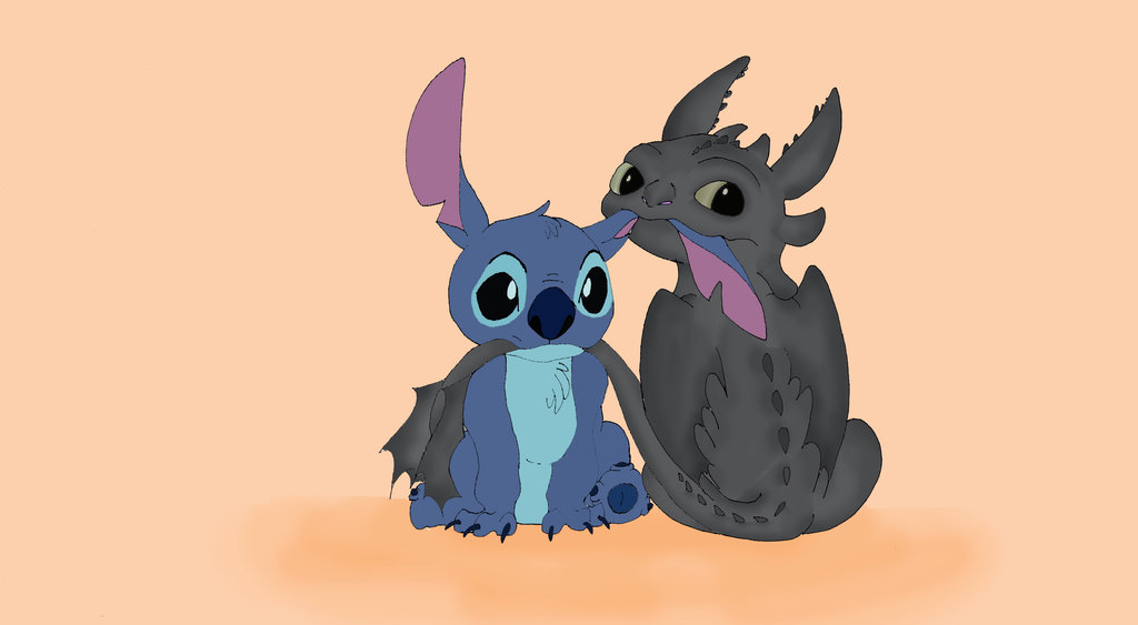 Toothless And Stitch Stitch e toothless by je93xo 1024x563