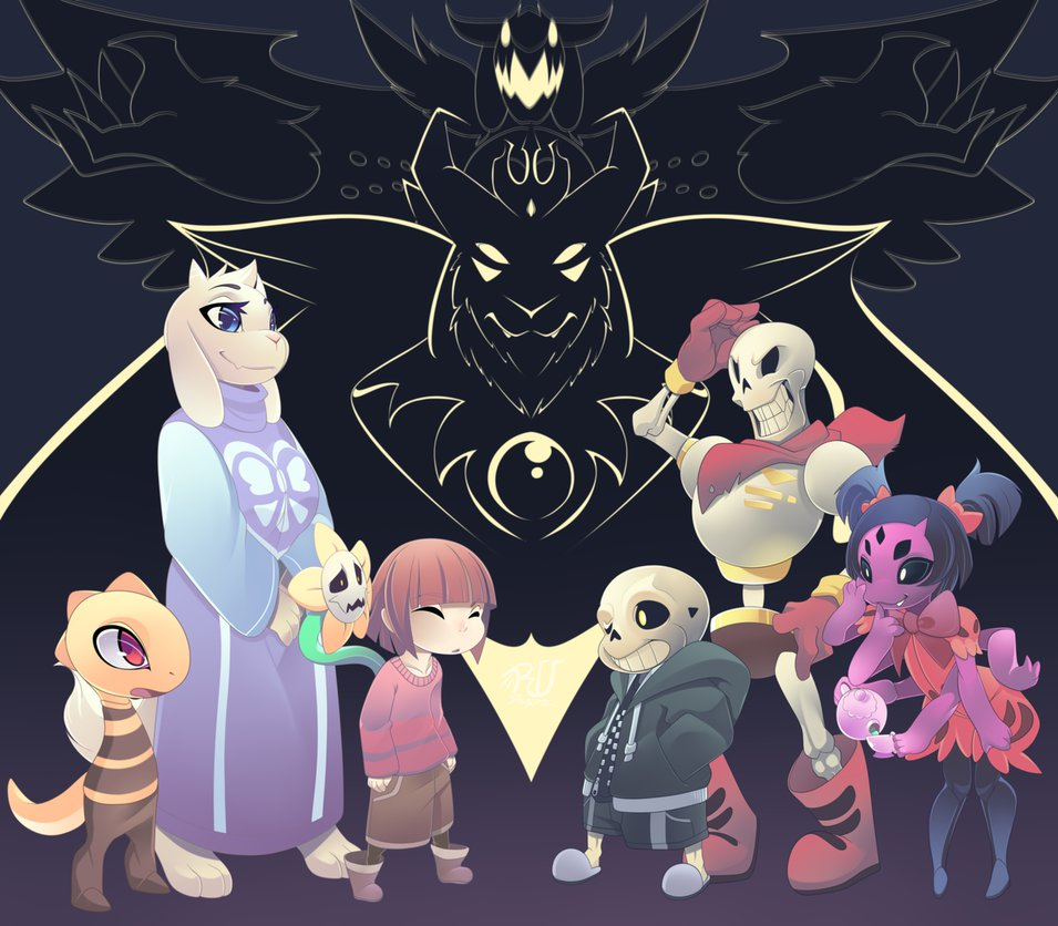 undertale by phation 955x836