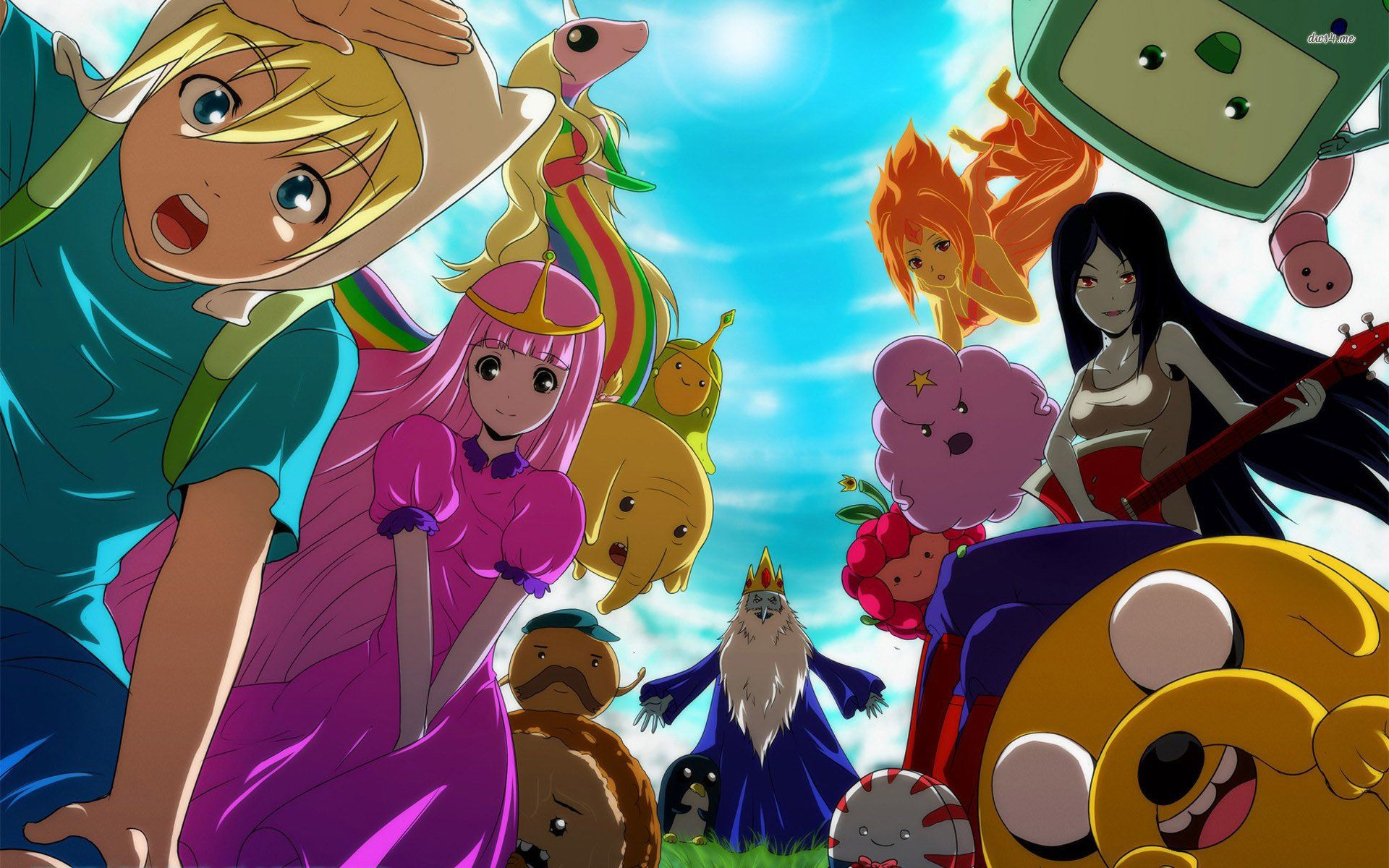 Adventure Time Anime Wallpapers   Top Adventure Time Anime 1920x1200