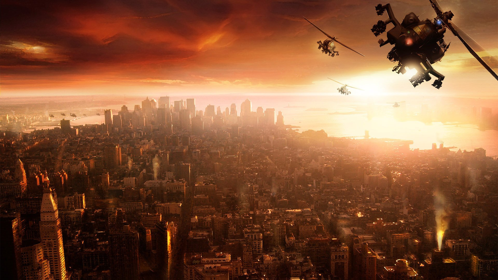 Fly Air Game Scene Wallpapers HD Wallpapers 1920x1080