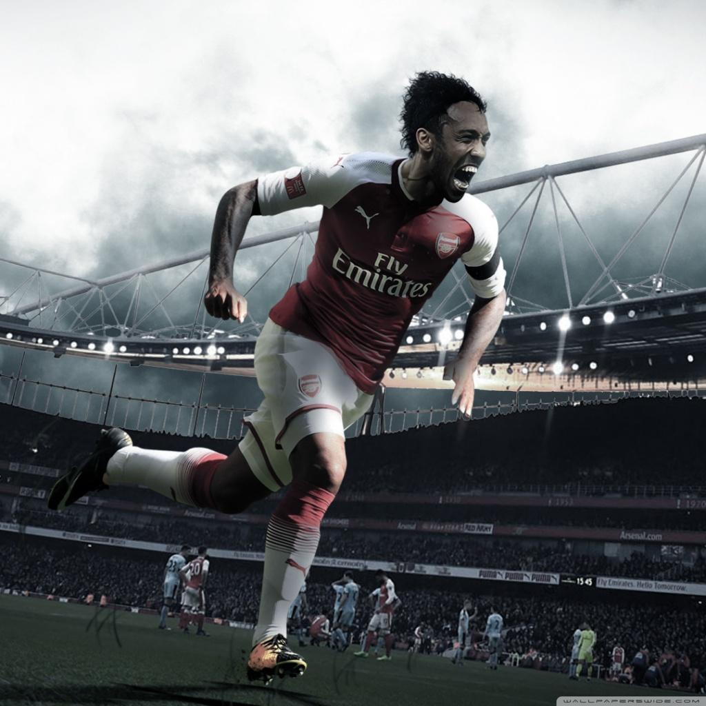 Aubameyang Welcome to Arsenal Wallpaper 201819 4K HD Desktop 1024x1024