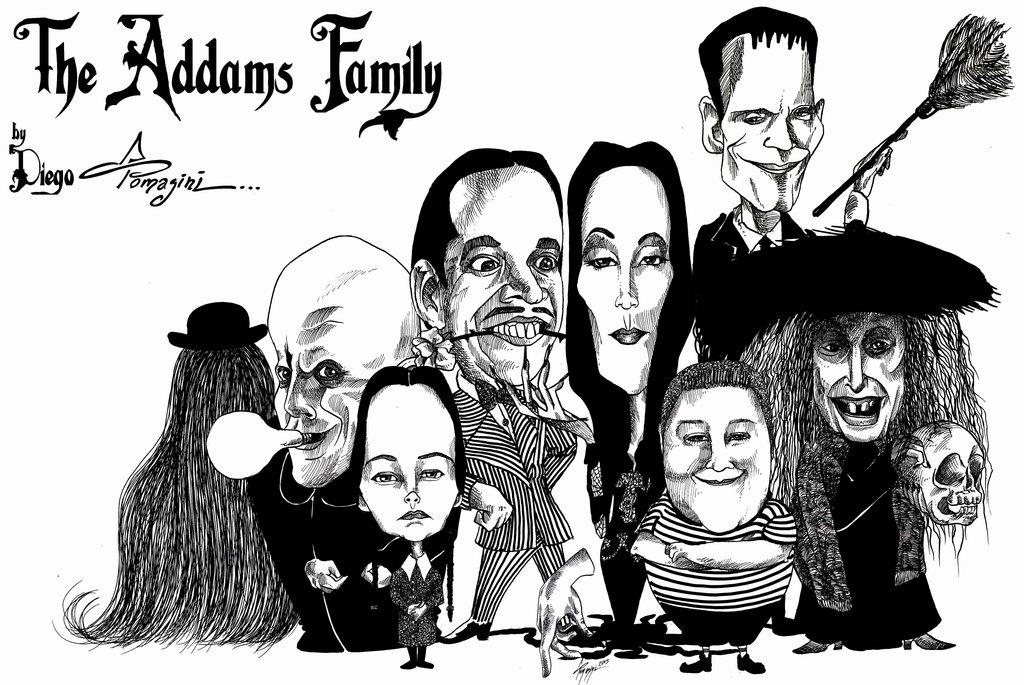 Addams Family Wallpape...