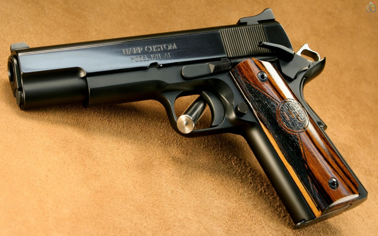 Get Pistol HD backgrounds Wallpaper and make this wallpaper for 1280x800