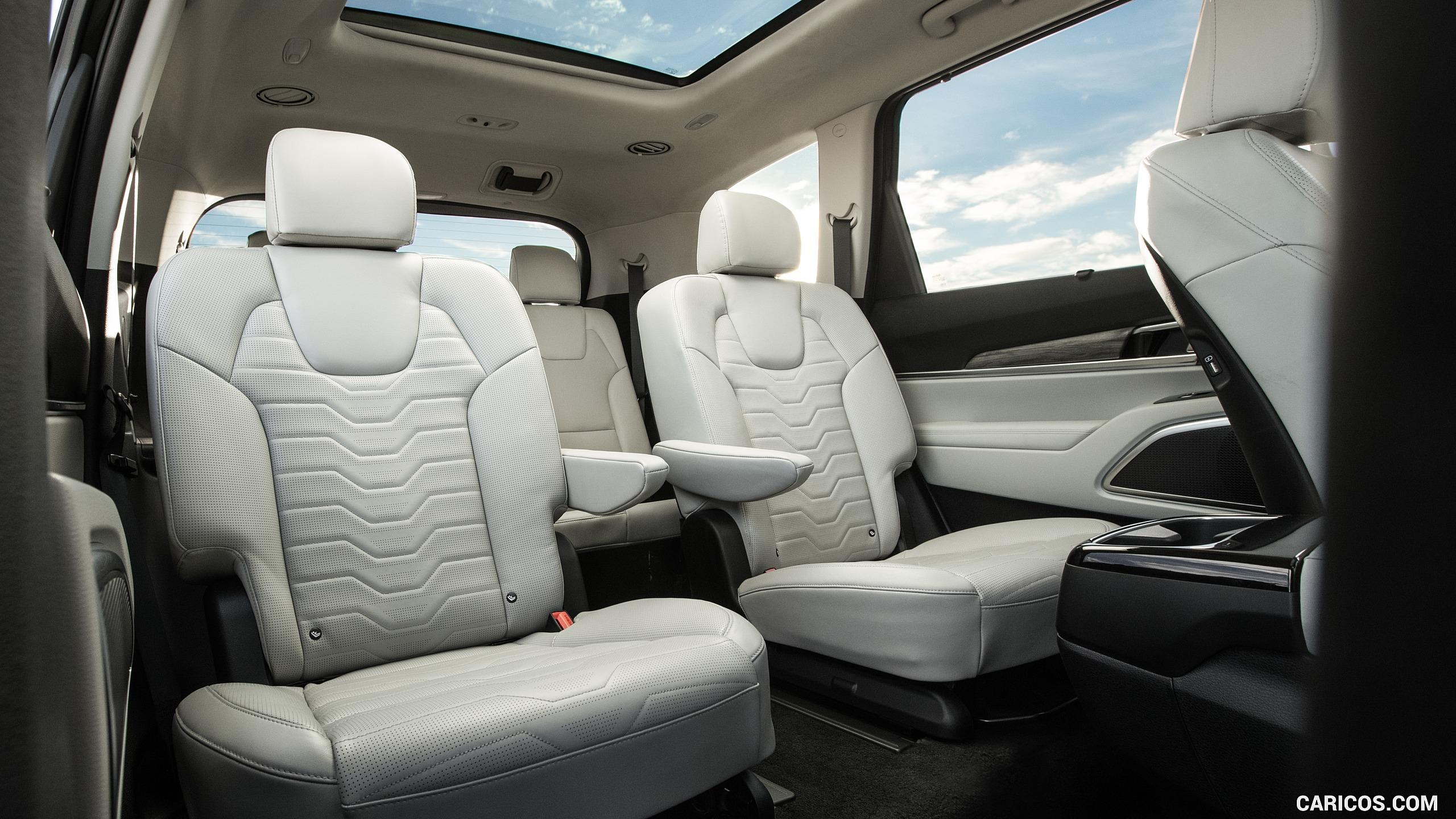 2020 Kia Telluride   Interior Rear Seats HD Wallpaper 11 2560x1440