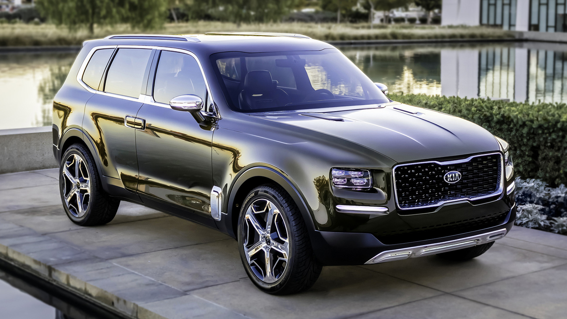 2016 Kia Telluride Concept   Wallpapers and HD Images Car Pixel 1920x1080