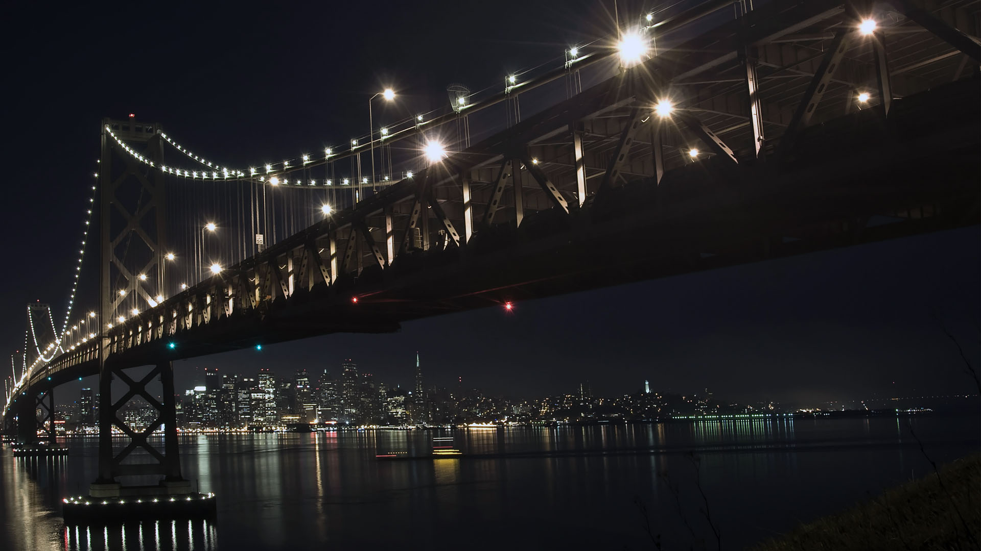 night wallpaper bridge francisco 1920x1080 1920x1080