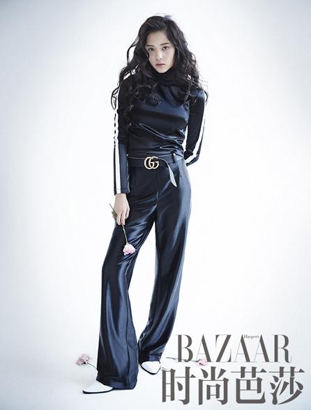 Nana Ou yang poses fashion photos for Bazaar magazine   ABDI 446x589