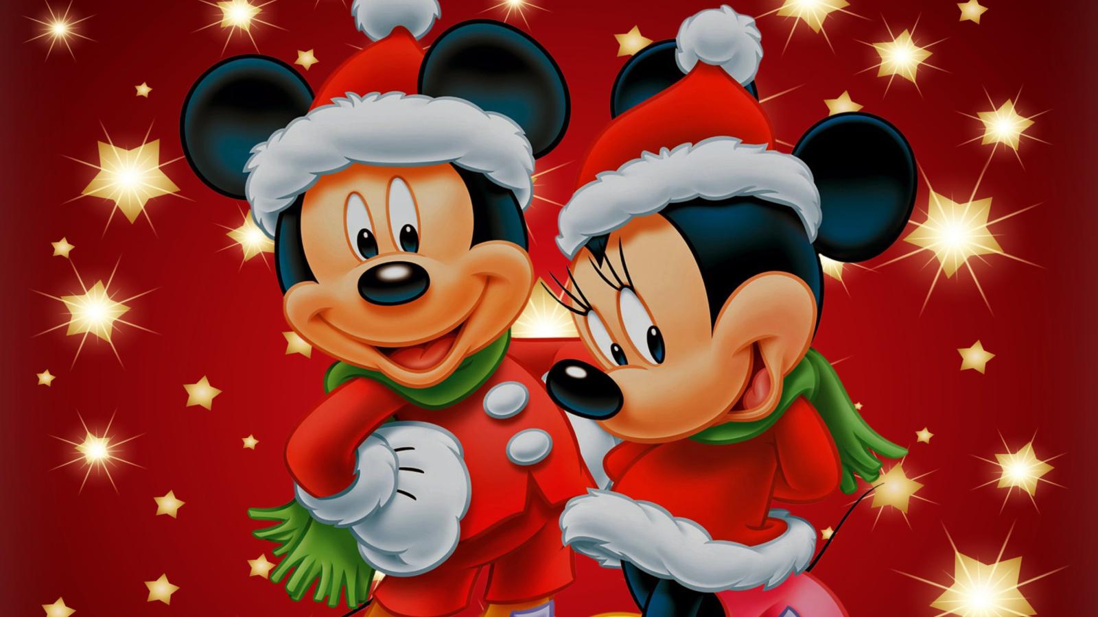 Mini Mouse Christmas Time Wallpaper for Widescreen Desktop PC 1600x900 1600x900