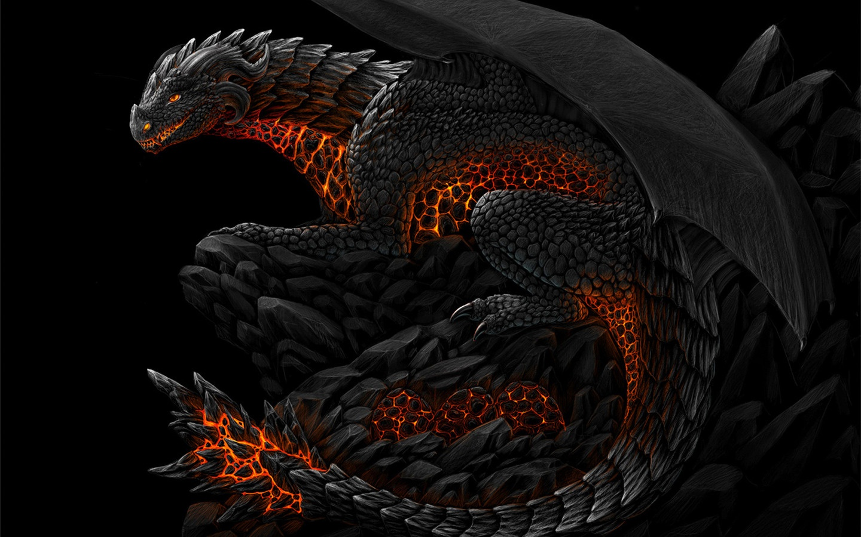 HD Dragon Wallpaper Widescreen - WallpaperSafari