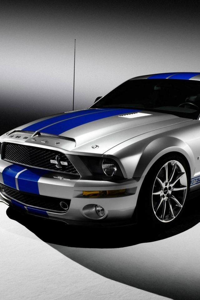 Mustang cars wallpaper for iPhone download 640x960