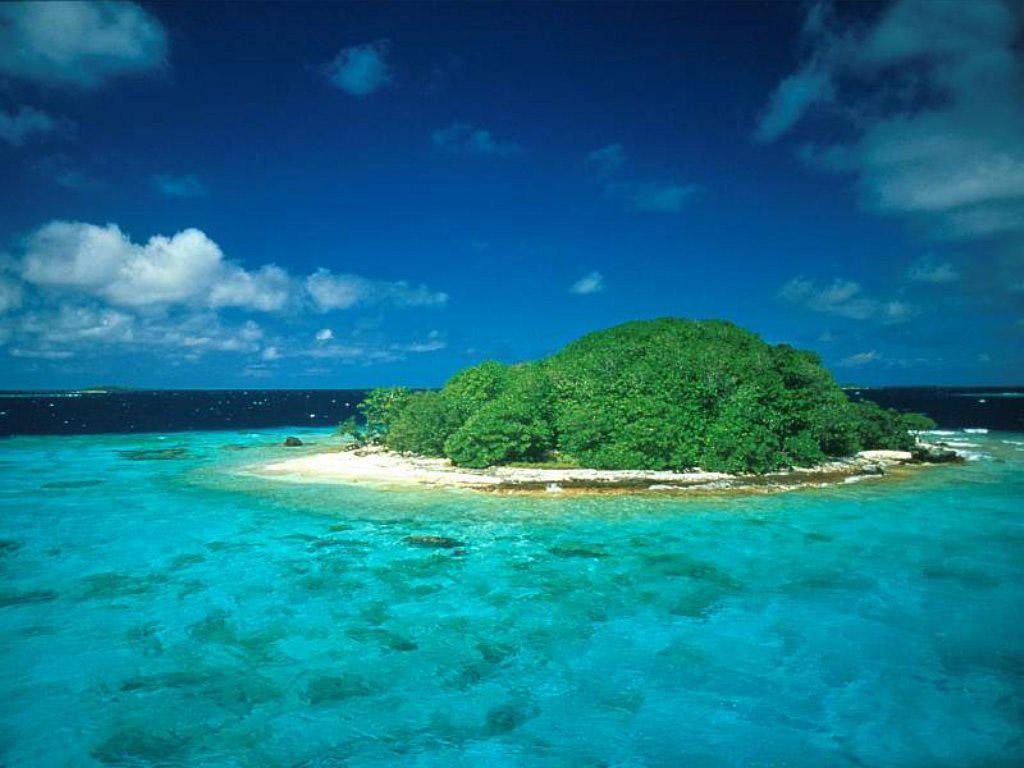 wallpaper island 1024x768
