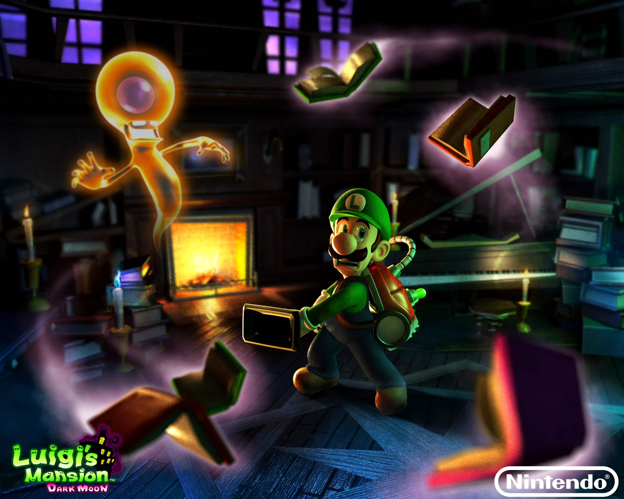 Games Wallpapers Luigis Mansion Dark Moon 2560x2048 Wallpaper