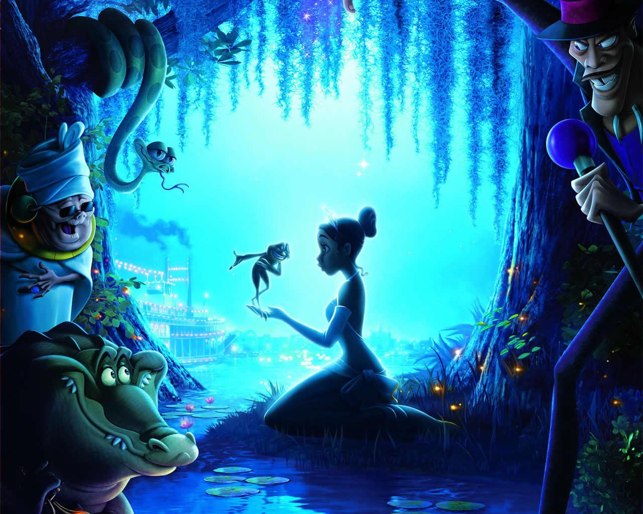 50 Princess And The Frog Wallpaper On Wallpapersafari