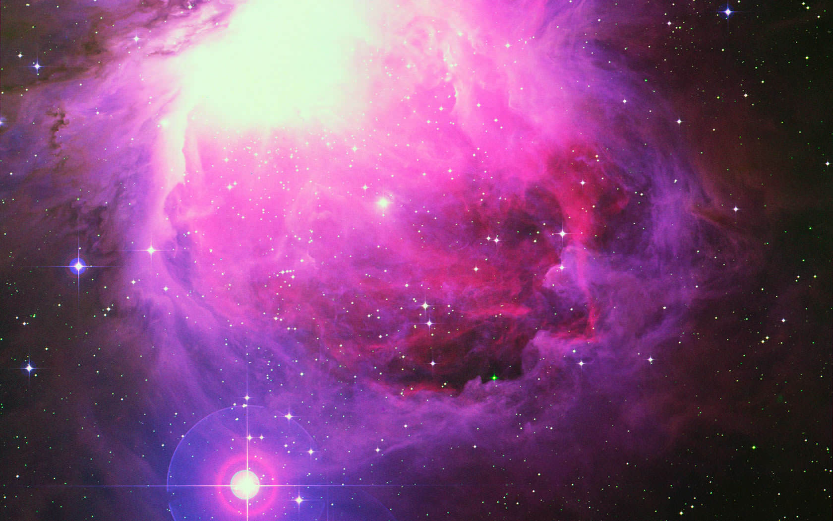 Cool Space Wallpaper 1680x1050