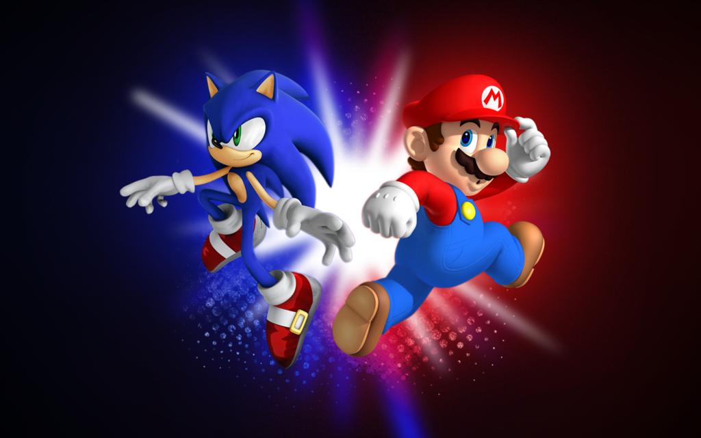 Mario and Sonic Wallpaper WallpaperSafari