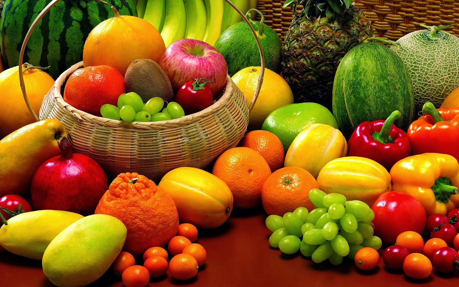 fruits and vegetables hd wallpapers fruits and vegetables wallpapers 1600x1000
