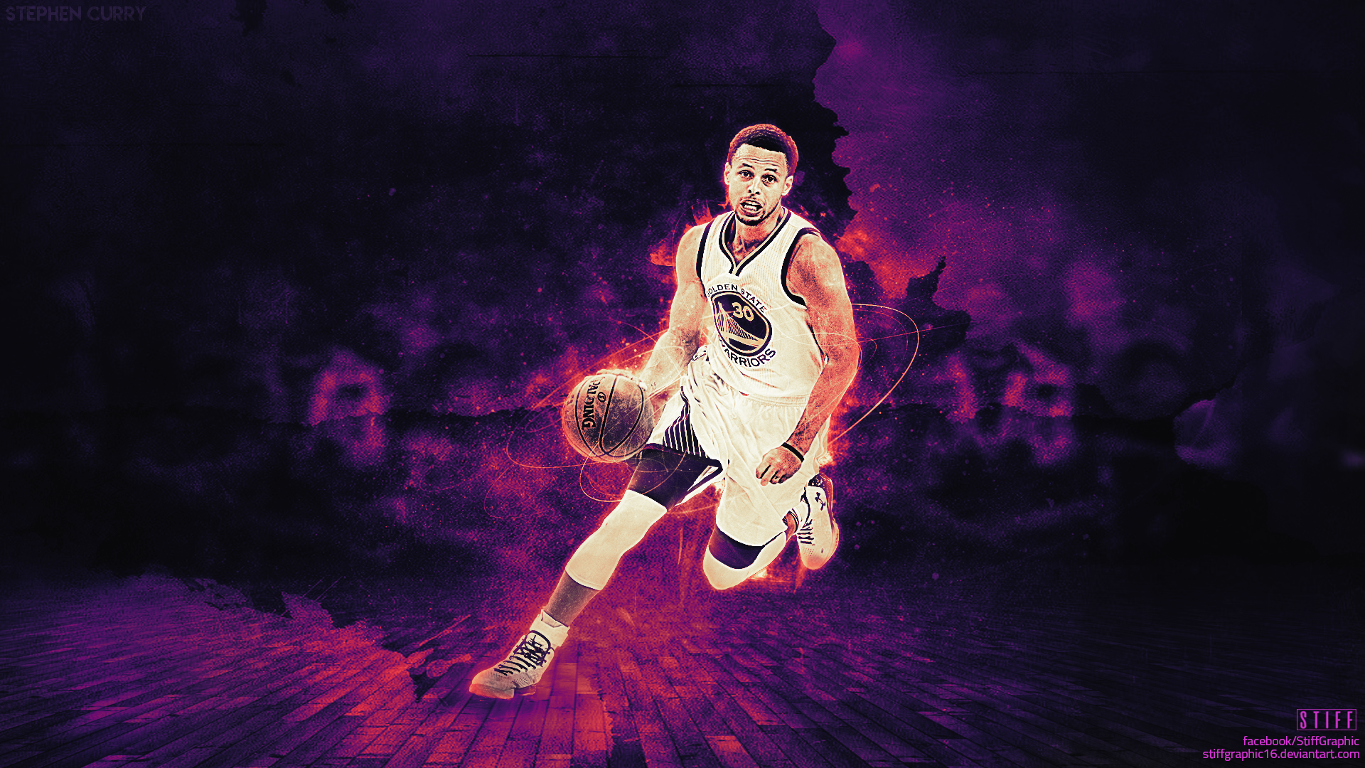 Stephen Curry Wallpaper by stiffgraphic16 1920x1080