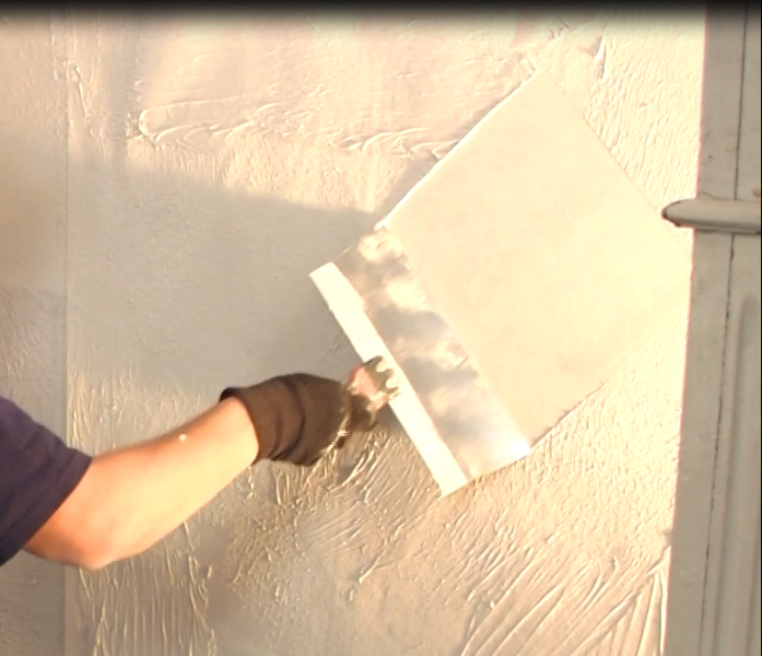 how to hand plaster walls to cover over wallpaper or hd wallpapers 697x600