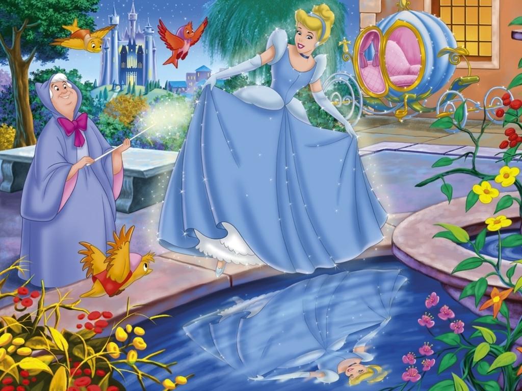 Cinderella Wallpaper   Classic Disney Wallpaper 6496223 1024x768