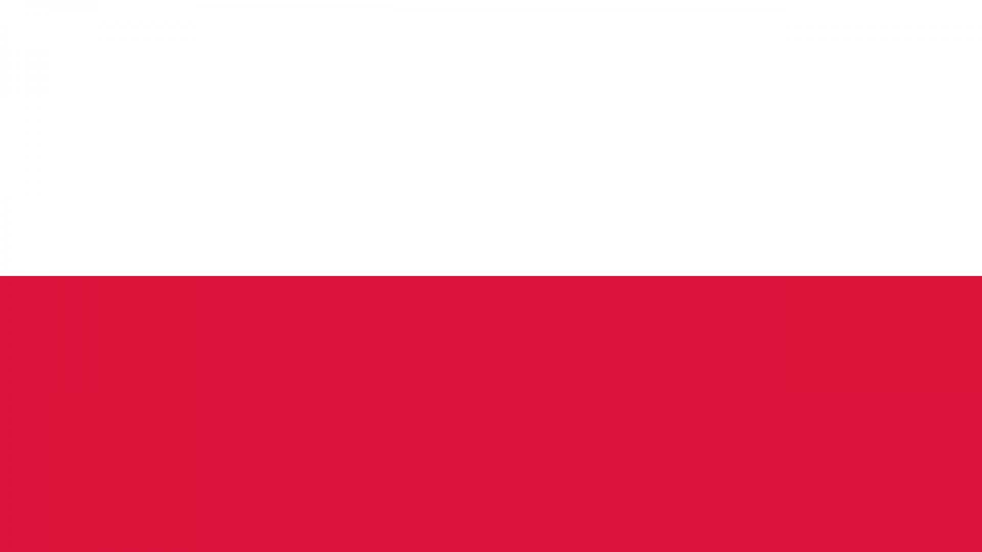 Poland Flag   Wallpaper High Definition High Quality Widescreen 1920x1080