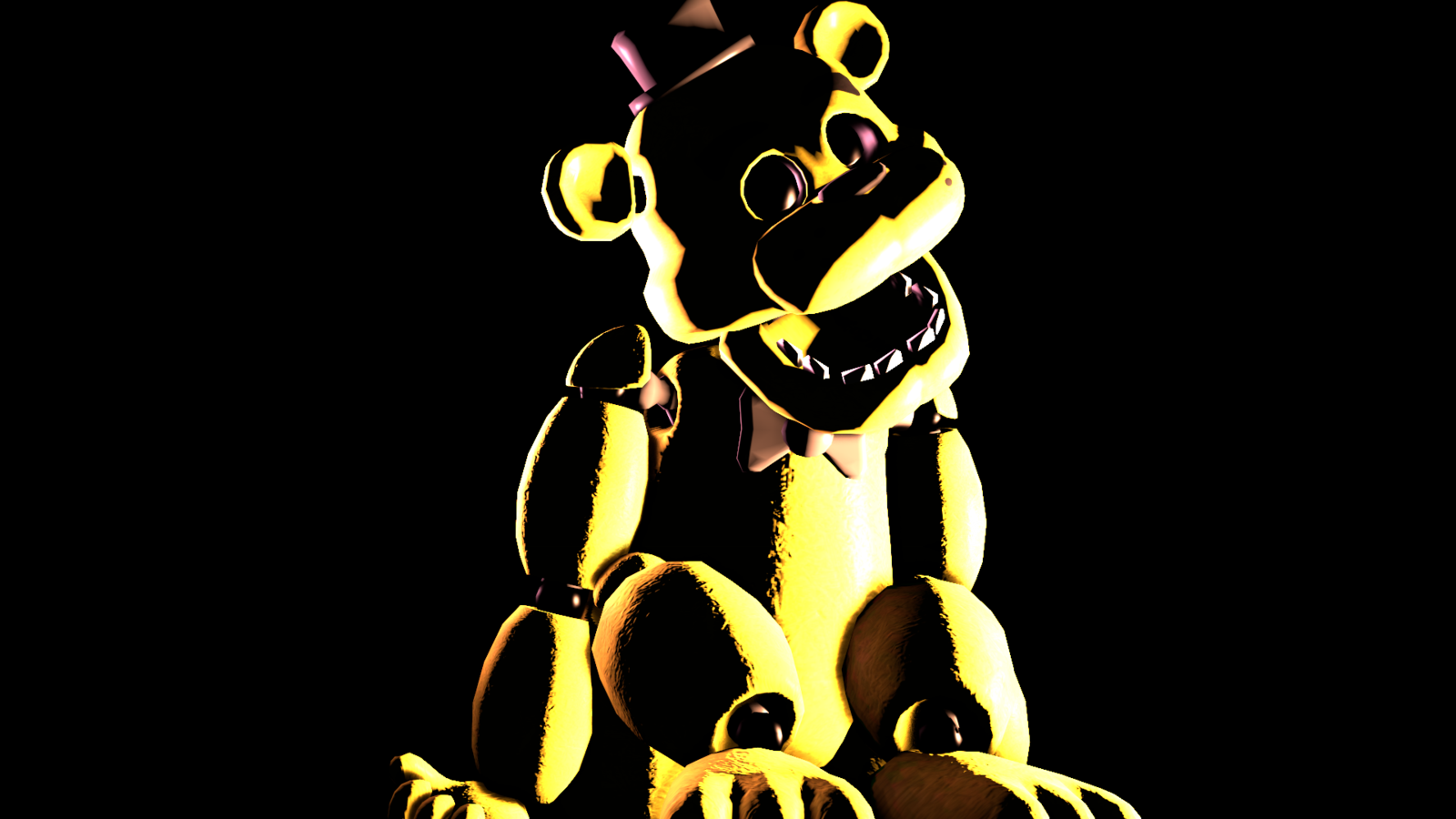 Golden Freddy by ZeFlyingMuppet 1600x900