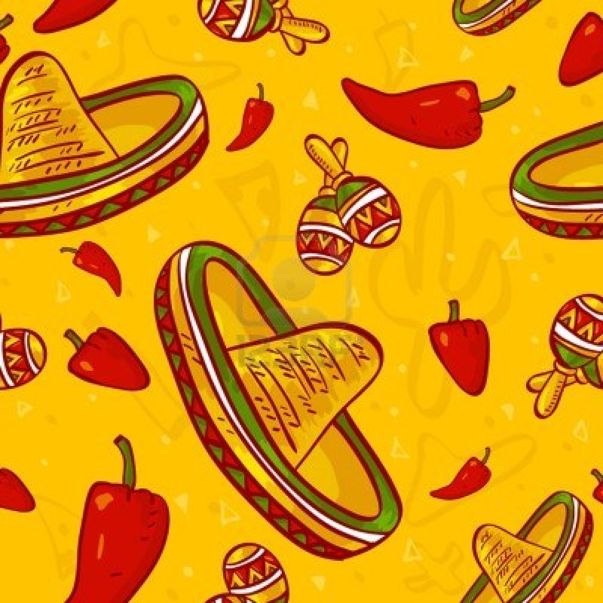 Mexican Fiesta Wallpaper 1200x1200