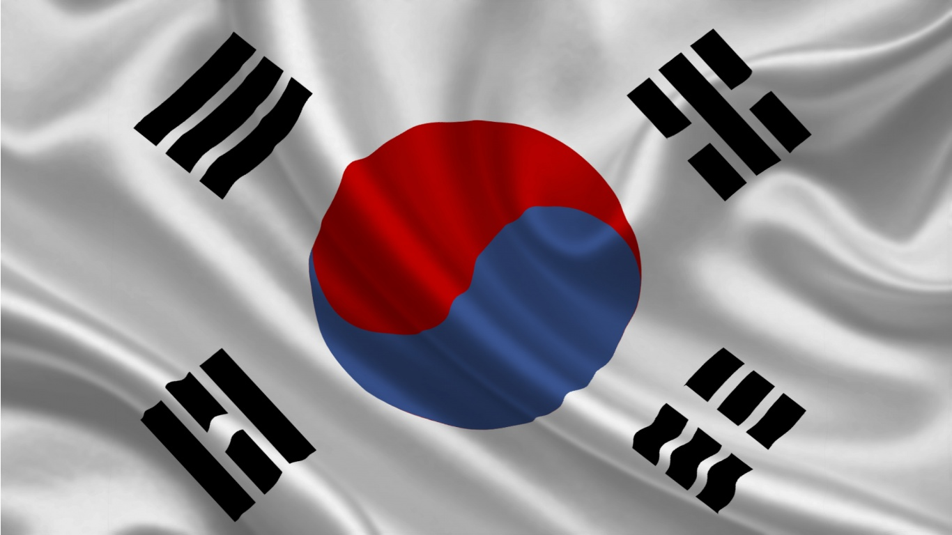 South Korean Flag Waving korean flag wallpaper - wallpapersafari