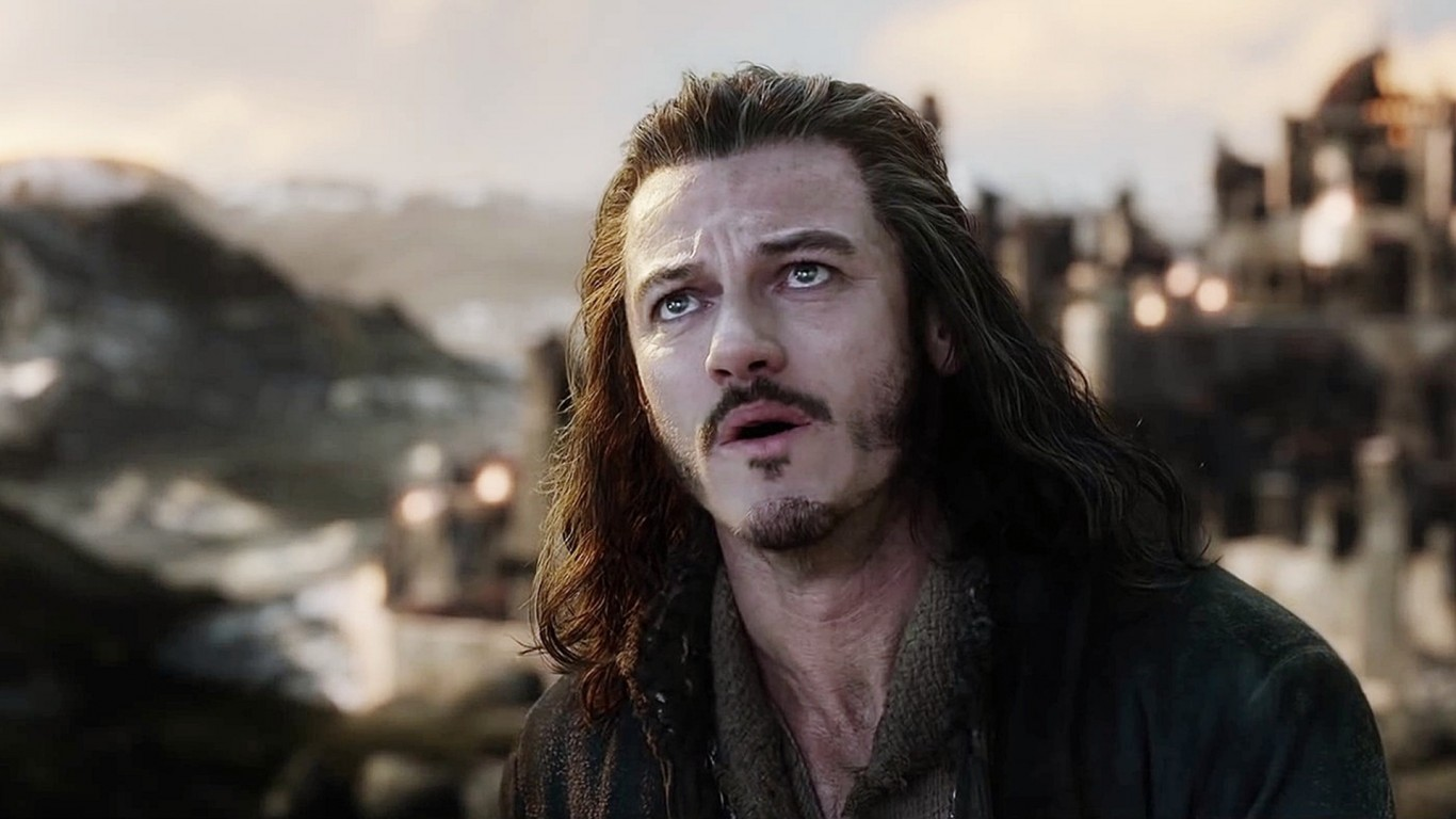 Battle Of Five Armies Luke Evans HD Wallpaper   StylishHDWallpapers 1366x768