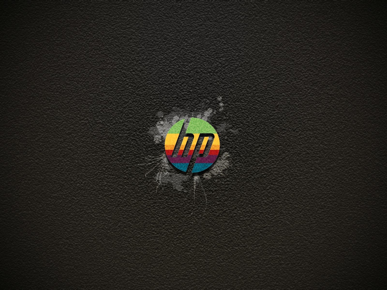 Logo en color de HP fondos de pantalla Logo en color de HP fotos 1600x1200