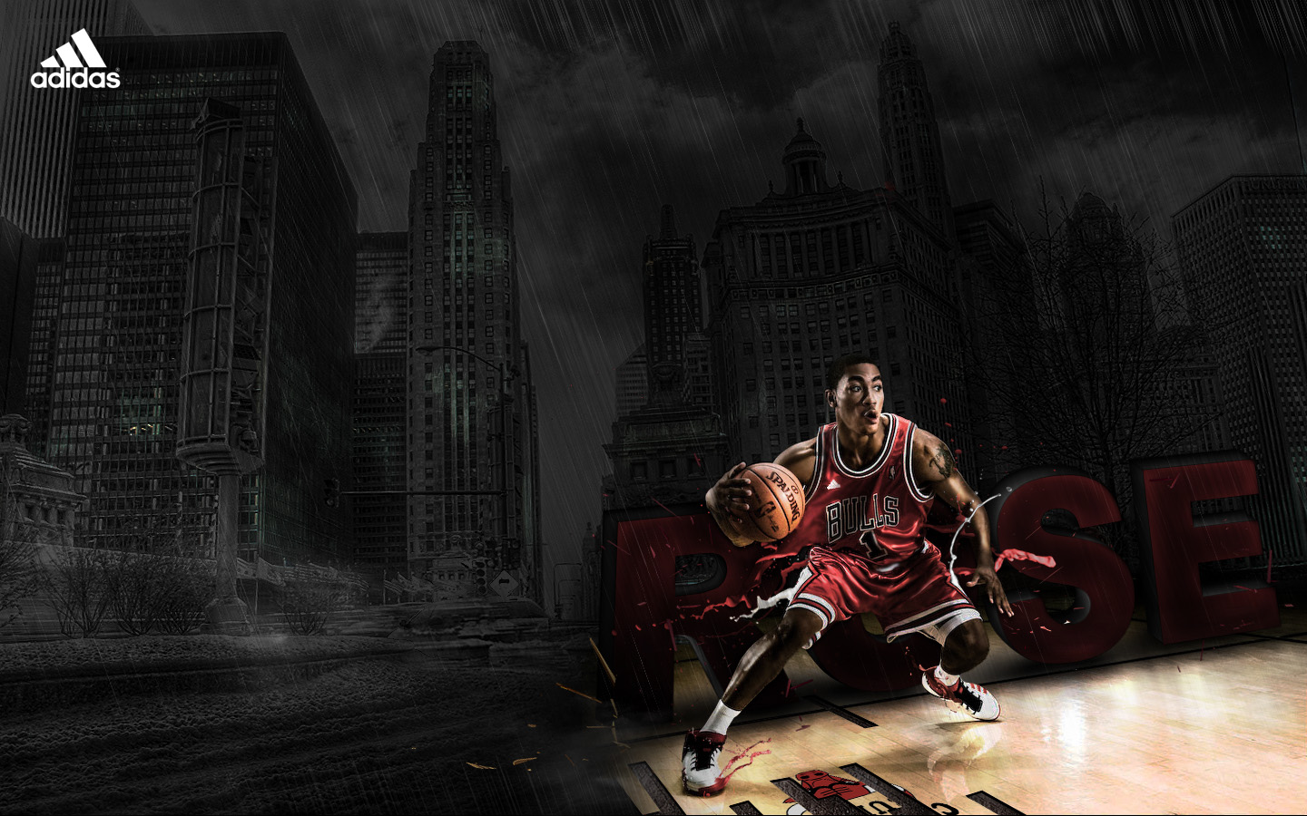 Awesome Derrick Rose Wallpaper 6895072 1440x900