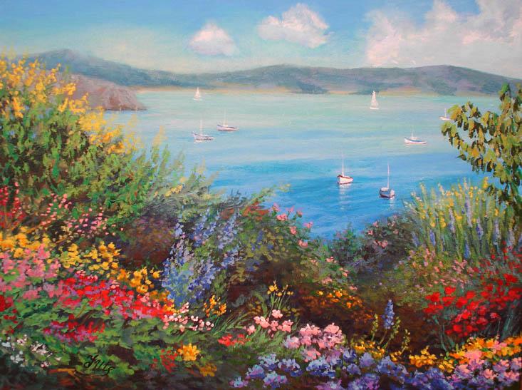 flowers for flower lovers Flower garden wallpapers 733x547