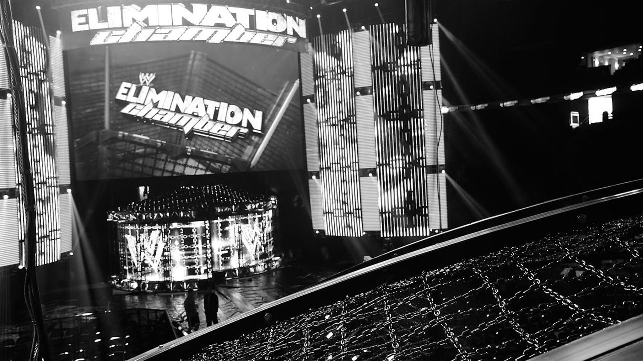 WWE Elimination Chamber 2014 results The Wyatt Family 2048x1152