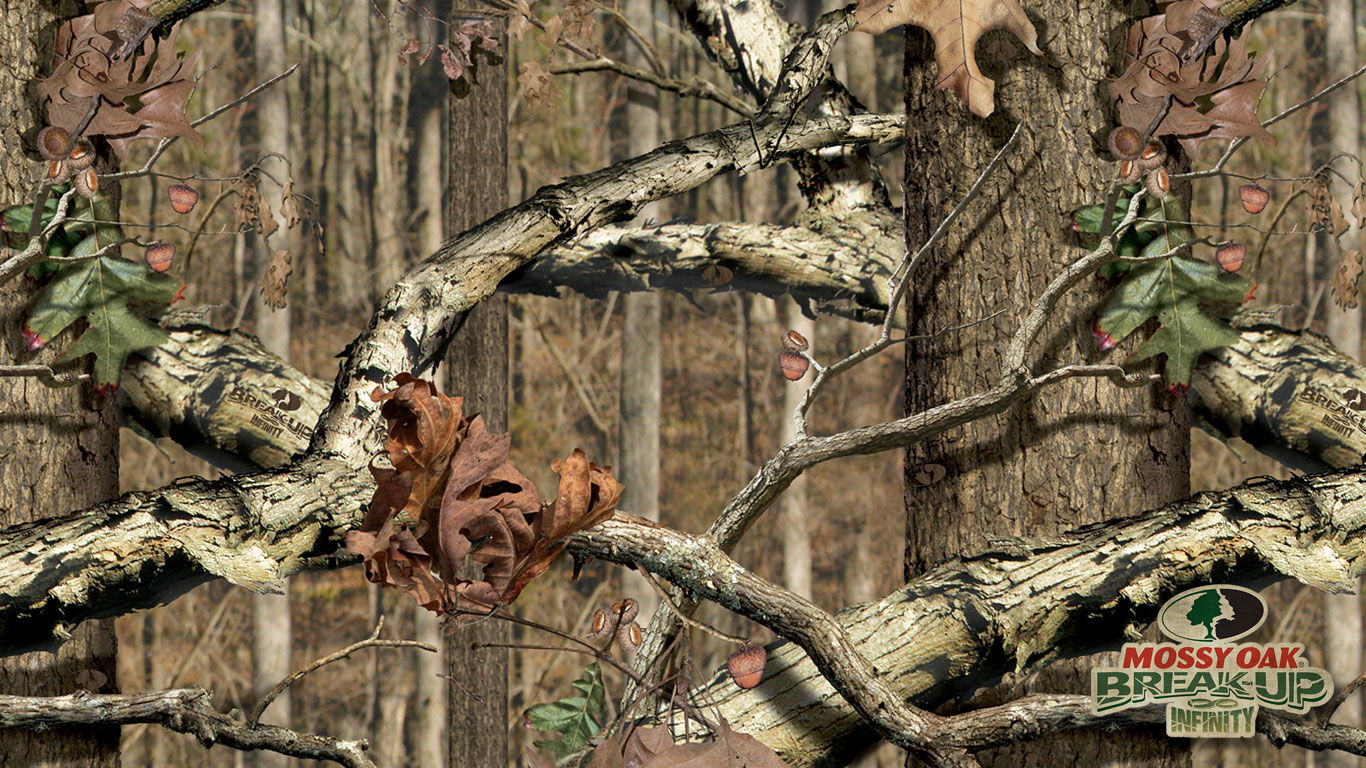Hunting Camo Backgrounds Mossy Oak Wallpaper Download 1366x768