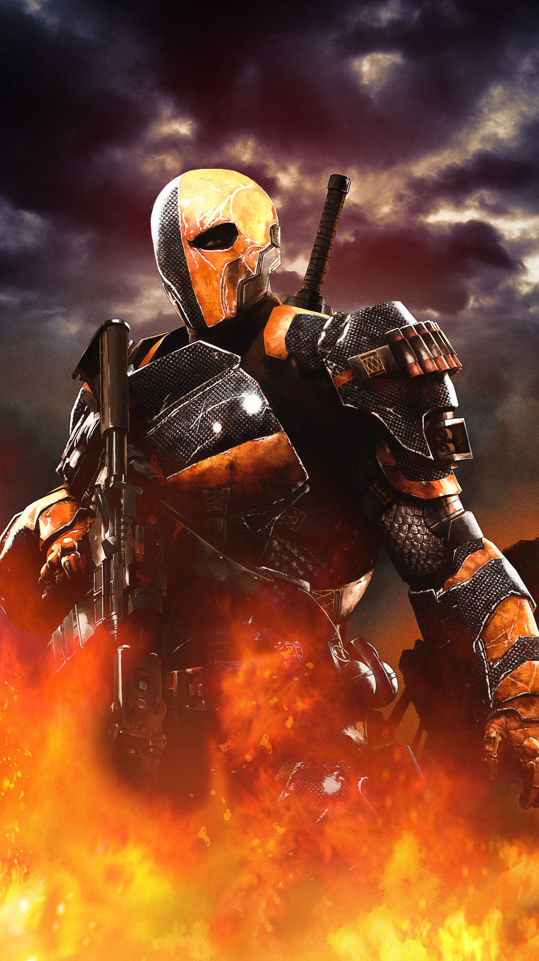 Deathstroke Wallpaper Deathstroke wallpaper 1080x1923