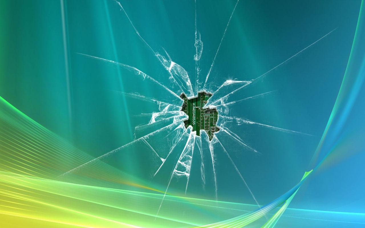 70 broken lcd screen wallpaper on wallpapersafari - Cool screensavers for cracked screens ...