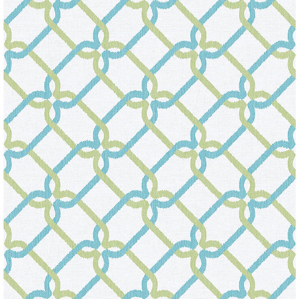 A Street Palladian Teal Links Wallpaper 2702 22724   The Home Depot 1000x1000