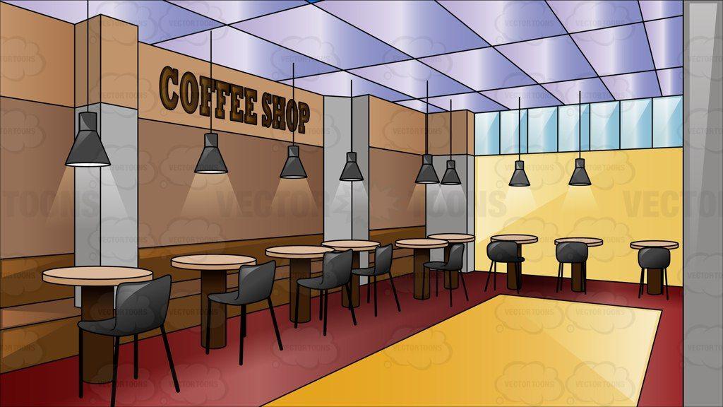 Cafeteria clipart background Cafeteria background Transparent 1024x576