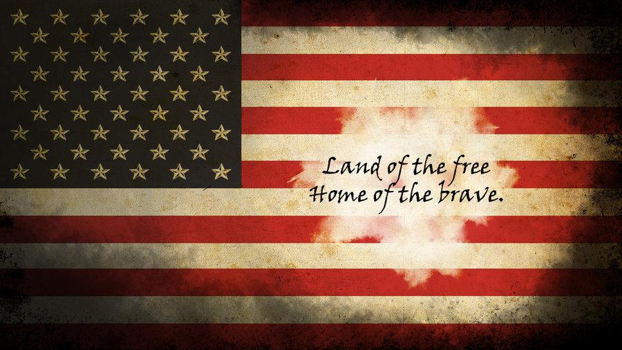 American Flag Wallpaper   Brassinventor by BrassInventor 900x506