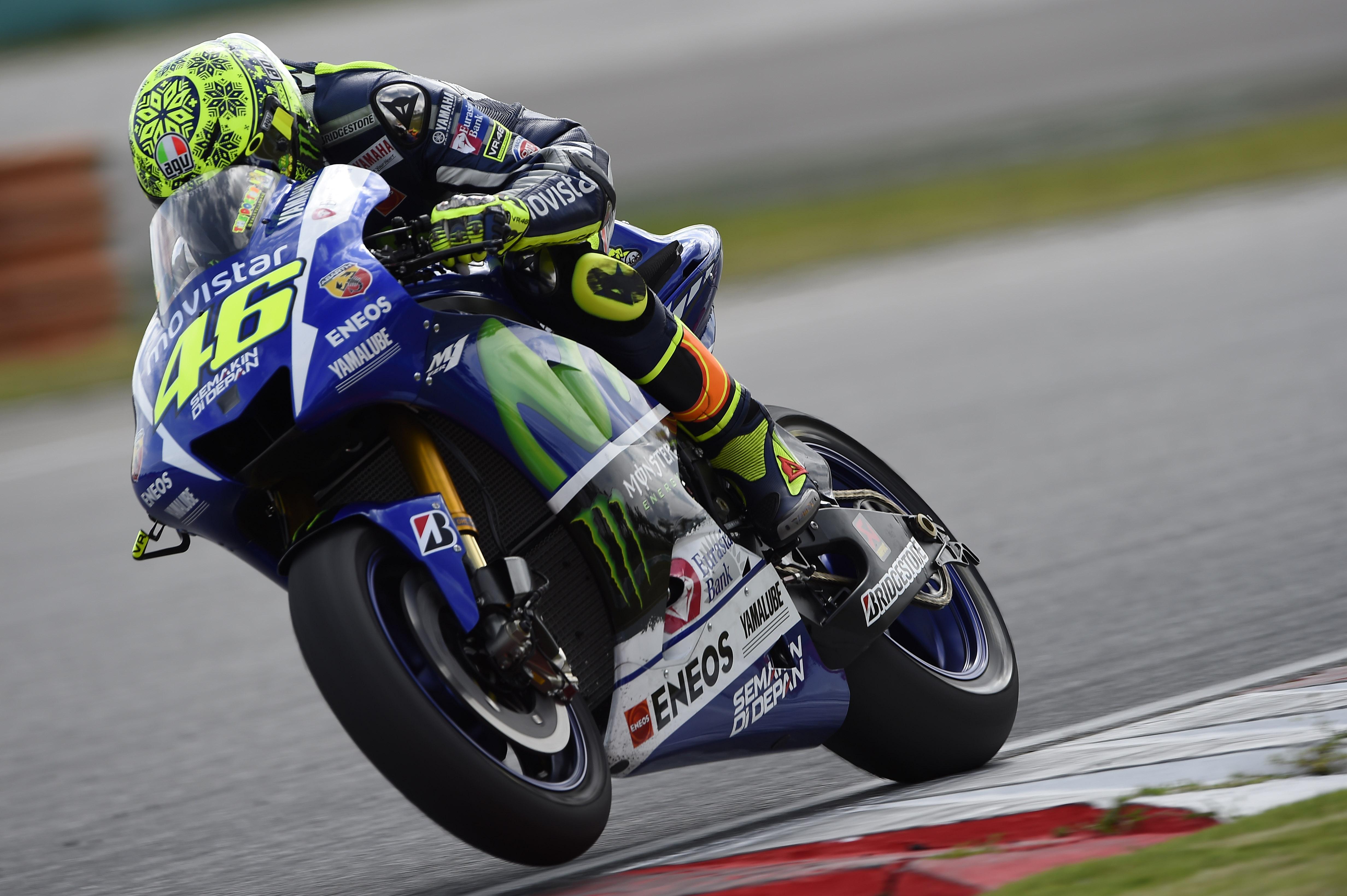 Valentino Rossi Race MotoGP 2015 Wallpaper HD 6710 Wallpaper 4928x3280