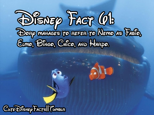 Cute Disney Facts 500x375