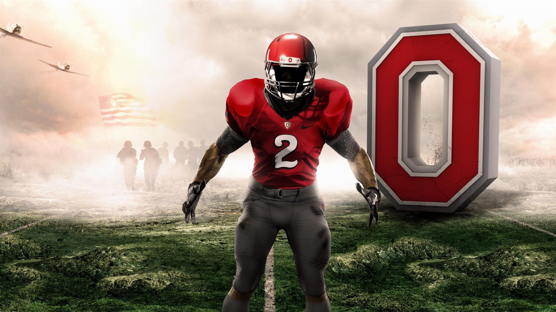 OHIO STATE BUCKEYES college football 11 wallpaper 1920x1080